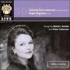 Songs by Mahler, Handel & Peter Lieberson (2007)