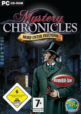 Mystery Chronicles: Mord unter Freunden (PC, 2009, DVD-Box)
