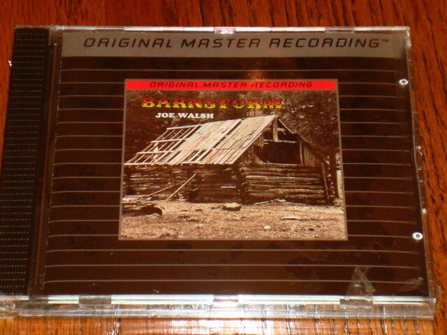 JOE WALSH MFSL SILVER CD BARNSTORM  Sealed !