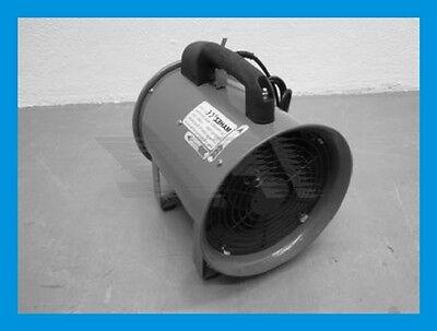 FAN400 Axialventilator 5760 cbm/h Ablüfter Rohrventilator Röhrenventilator Axfan