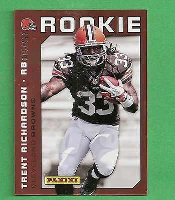 2012 Panini #23 National Convention TRENT RICHARDSON /499 Cleveland Browns
