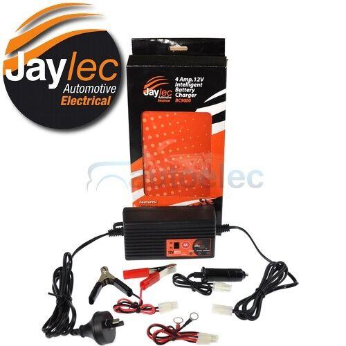 JAYLEC BC9000 SMART BATTERY CHARGER 12V CAR MOTORBIKE CARAVAN AGM DEEP CYCLE SLA