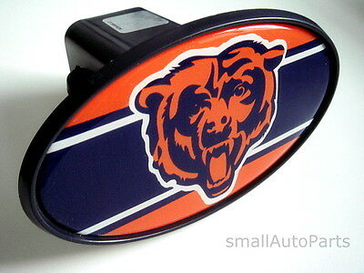 "CHICAGO BEARS NFL TOW HITCH COVER car/truck/suv trailer 2"" receiver plug cap"