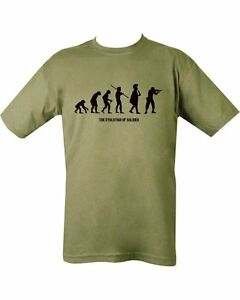 New Military Evolution Of A Soldier T Shirt Unisex Us