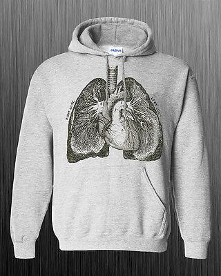 Lungs Anatomy Hoodie - anatomical art weird unique