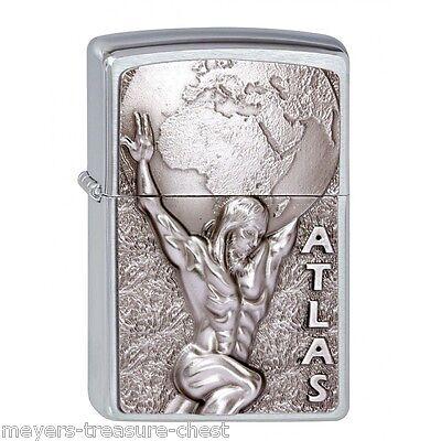 awesome ZIPPO ATLAS Greek God - wonderful Zippo lighter