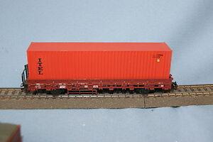 Marklin-4694-DB-Rungenwagen-with-Container-ITEL