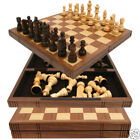 Traditional Walnut Chess Set / Extravagant Woods
