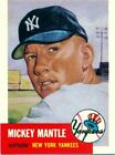 1991 Topps Archives 1953 Mickey Mantle New York Yankees #82 Baseball Card