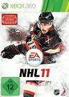 NHL 11 (Microsoft Xbox 360, 2010, DVD-Box)