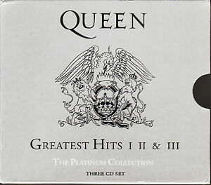 Queen-Platinum-Collection-3CD-Boxset-Greatest-Hits-I-II-III-FASTPOST
