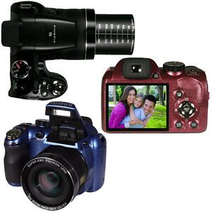 Fuji-Finepix-S4080-720p-HD-14MP-Digital-Camera-30X-Zoom-3-034-LCD-Black-Plum-Navy