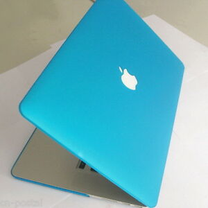 Matt-Aqua-Blue-Hard-Case-Cover-Protector-fr-Apple-MacBook-Pro-15-A1398-w-Retina