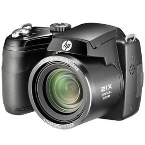 HP-D3000-16MP-720p-HD-Video-21X-Optical-Zoom-Bridge-Digital-Camera-Windows-7-8