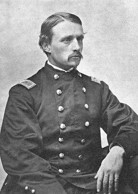 New 5x7 Civil War Photo: Union Colonel Robert Gould Shaw, 54th Massachusetts