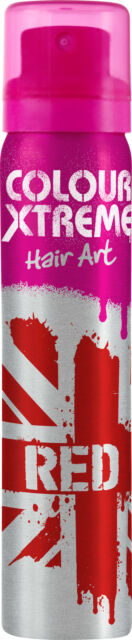 Colour Xtreme Hair Art Temporary Colour Hairspray 10 Colours Available