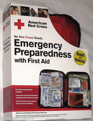 American Red Cross Emergency Preparedness W/first Aid Kit by First Aid Only