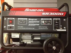 Snap-on-3000W-3500W-GAS-GENERATOR-CARB-6-5HP-NEW