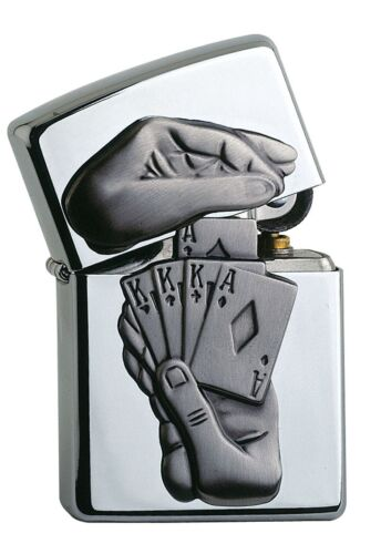 awesome ZIPPO TRICK POKER - lighter very rare Special Edition Casino Edition