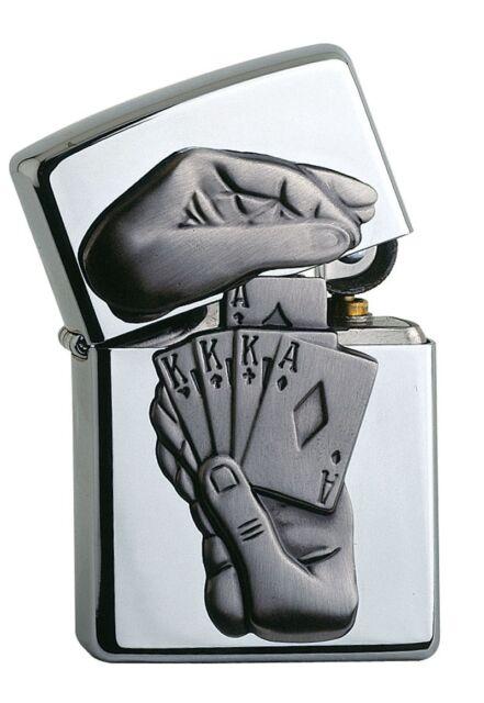awesome ZIPPO TRICK POKER - lighter very rare Special Edition Casino Edition