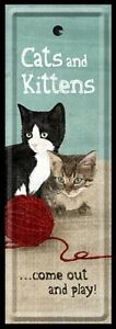 MARQUE-PAGES : CATS & KITTENS (CHATS ET CHATONS)
