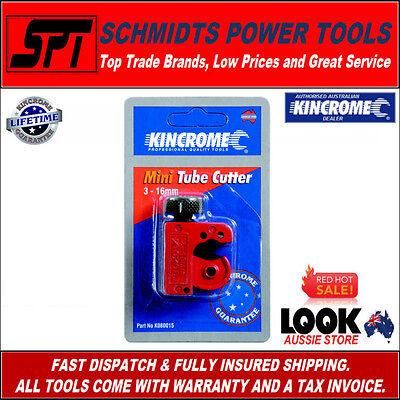KINCROME K080015 3 - 16mm MINI COPPER PIPE CUTTING TOOL / TUBING CUTTER - NEW