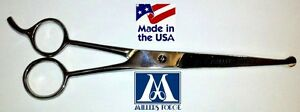 MILLERS-FORGE-BLUNT-SAFETY-TIP-STRAIGHT-SHEARS-Scissor-7-25-034-Pet-Dog-Cat-Grooming