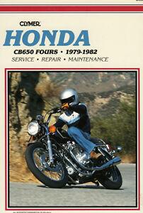clymer workshop service repair manual book honda cb650 c cb650sc rh ebay com 82 CB650SC Engine 82 CB650SC Engine