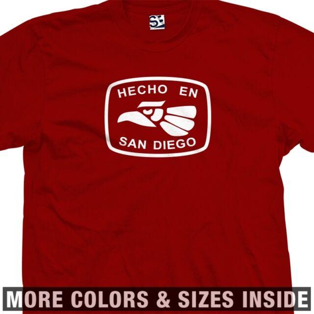 Hecho En San Diego T-Shirt - 619 Chula Vista El Cajon La Mesa Made in Tee