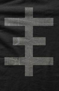 Psychic tv topy psychic cross black mens t shirt for Cross counter tv shirts