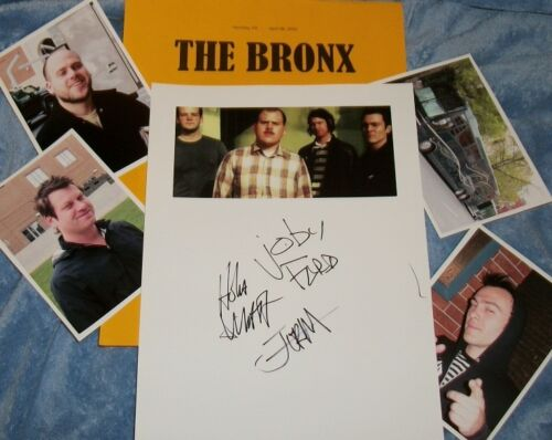 THE BRONX Band Autographed Photo & Photos/ Really HOT
