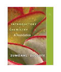 Available Titles OWL: Introductory Chemistry : A Foundation by Donald J. DeCoste and Steven S. Zumdahl (2010, Hardcover)