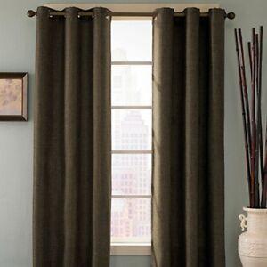 Bed Bath Home Reina Grommet Curtain Panel Drapes New Ebay