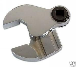 Sealey Crowfoot Adjustable Wrench 6 45mm 1 2 Drive Chrome