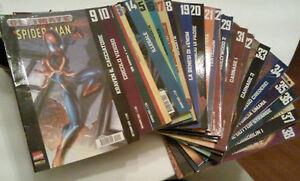Ultimate-spiderman-10-17-21-22-27-28-29-32-56-60-61