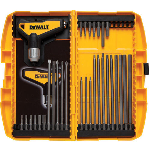 DeWALT DWHT70265 31-Piece Ratcheting T-Handle Hex Allen Key Set