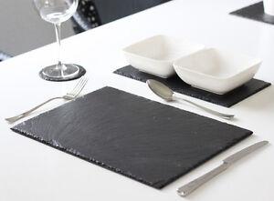 4-Stk-Schiefer-Platzset-Tischset-40x30-Untersetzer-Schieferplatten