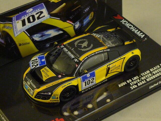 MINICHAMPS 437101912 - Audi R8 LMS 24 Heures Nurburgring 2010 N°102  1 43