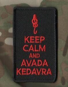 AFG-PAK TALIZOMBIE© WHACKER WAR TROPHY burdock MORALE PATCH: Keep Calm Series a
