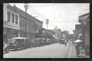 Batavia rppc Pasar Baroe Cars Shops Java Indonesia 30s