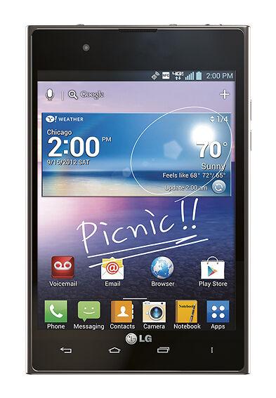 LG Intuition VS950 - 32GB - Black (Verizon) Smartphone
