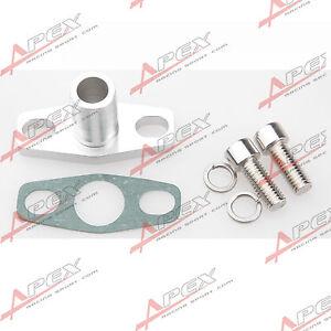 5-8-034-Male-Neck-Alu-Olruecklauf-Flansch-Turbo-Garrett-GT15-GT35BB-Silber