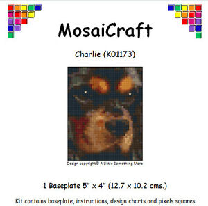 MosaiCraft-Pixel-Manualidades-Mosaico-Arte-Kit-039-Charlie-039-Cavalier-King-Charles