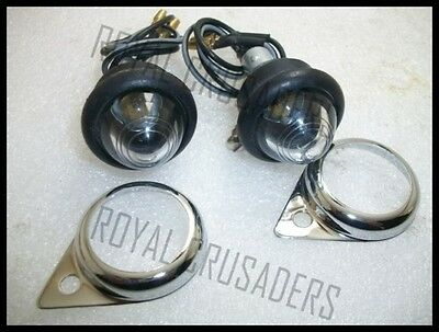 ROYAL ENFIELD CLEAR PILOT LIGTS  @JUSTROYAL