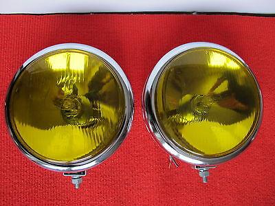 2x Scheinwerfer NEU H3 Ø 151mm gelb Opel Kadett A B C Olympia Rekord P1 P2 GT