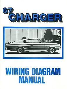 1967 67 DODGE CHARGER WIRING DIAGRAM MANUAL eBay