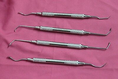 Set of 4 Kramer Nevins & Pikos Sinus Lift Implant (8mm Hollow Handle) A+QUALITY
