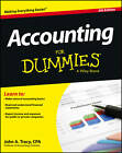 Accounting For Dummies by John A. Tracy (Paperback, 2013)