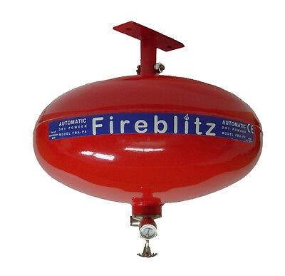 NEW 4 KG FIREBLITZ ABC DRY POWDER AUTOMATIC FIRE SUPPRESSION UNIT - FBA-P4