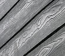 Cedral Weatherboard Cladding in Black (Marley Eternit) (3.6m x 190mm x 10mm)